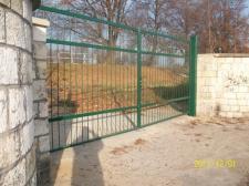 """Brama dwuskrzydłowa """"TS Gwarek"""" w Tarnowskich Górach"""