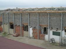"""konstrukcja stalowa hali (""""BRAMSTER"""" Nowe Chechło)"""