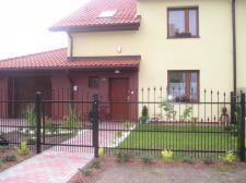 ogrodzenie ozdobne (klient idywidualny Siemianowice Śląskie)