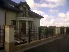 ogrodzenie ozdobne (klient idywidualny Tarnowskie Góry)