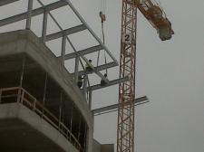 """konstrukcja stalowa dachu WSSE """"INVEST-PARK"""" w Wałbrzychu"""