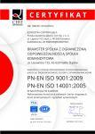Certyfikat PN-EN