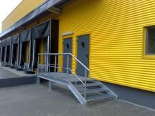 schody stalowe (DHL Czechowice - Dziedzice)