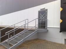 schody stalowe (Aneks Jaworzno)