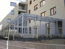 konstrukcje stalowe różne (Osiedle Wilanów)