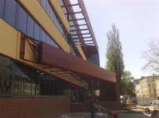 konstrukcja stalowa zewn. daszków (