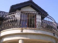 balustrady ozdobne (Klient indywidualny Tarnowskie Góry)